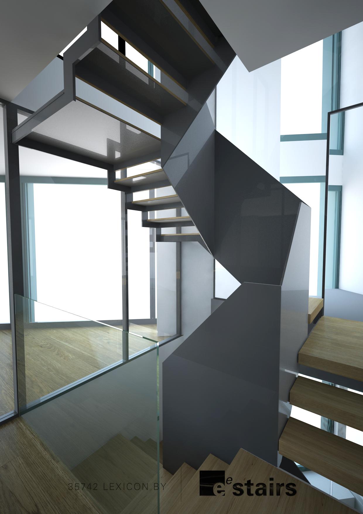 Lexicon multi-flight stair mid