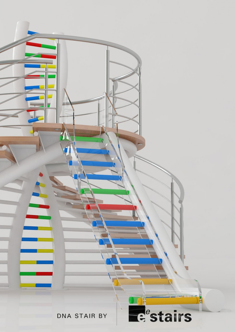 dna stair