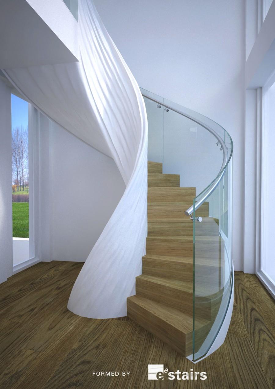 Formed internal balustrade