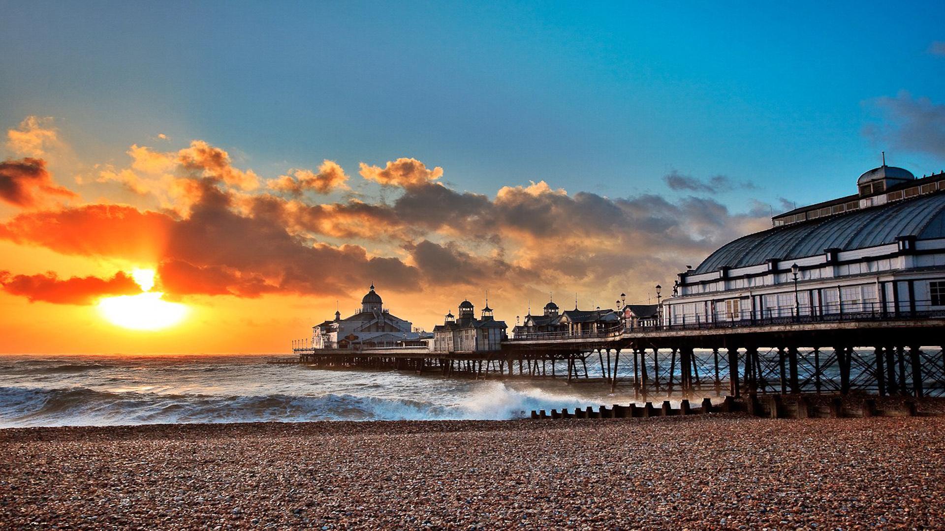 eastbourne-pier-sunset