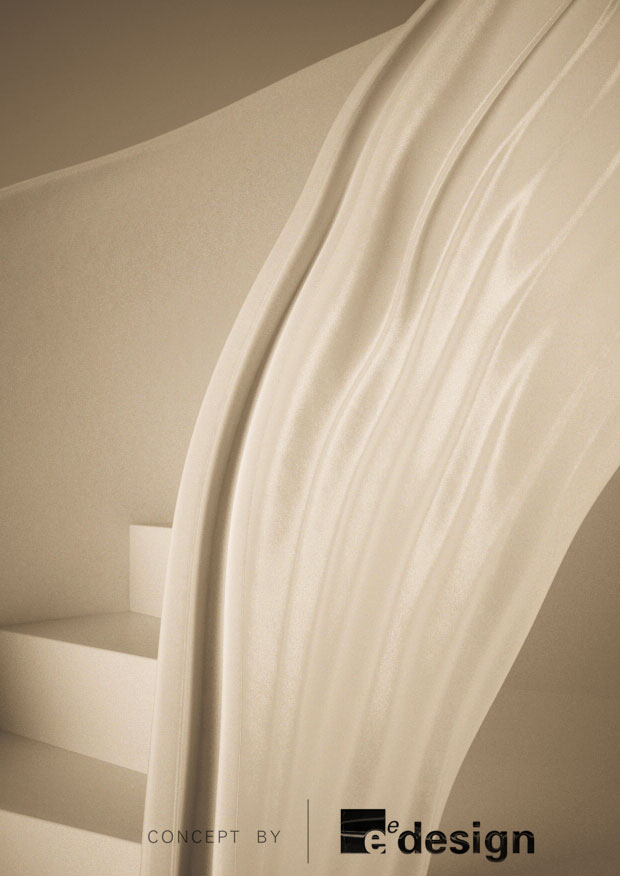 Formed internal handrail detail
