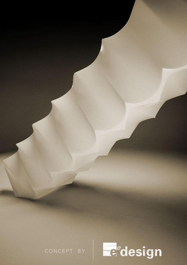 Formed soffit and balustrade